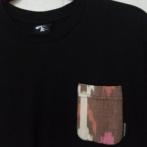 AKOMPLICE Mens LARGE Pocket T Shirt Made in USA